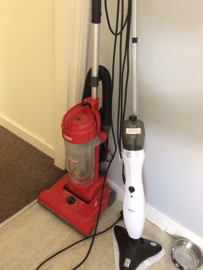 Free Hoover and steam mop
