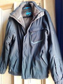 Salomon black warm jacket M/L very good condition