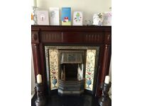Fireplace and surround for sale