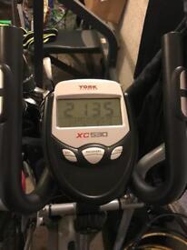 York xc530 cross trainer (as new)
