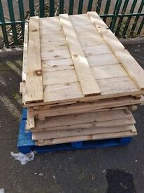 Heavy Duty Pallet Racking Open Timber Decking