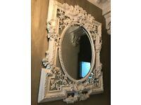 Elegant Large Baroque Bevelled mirror RRP £350 selling for £140