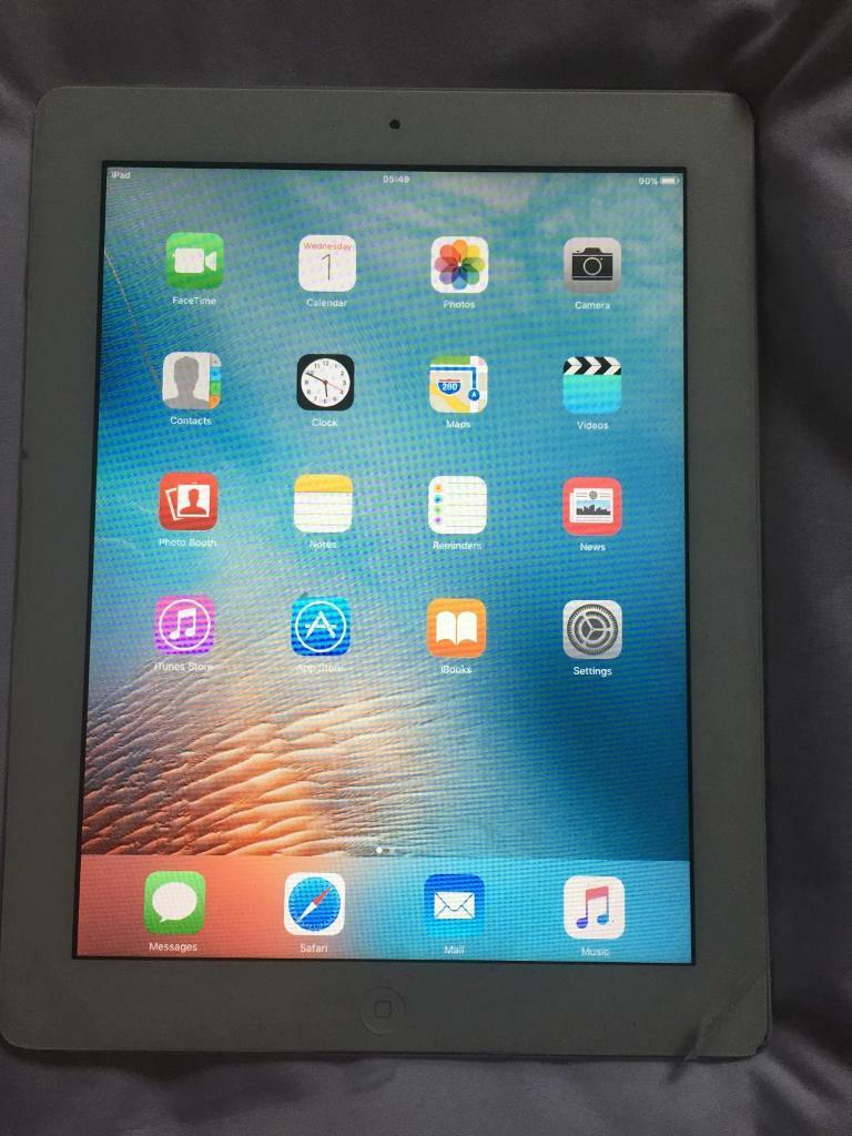 IPAD 2 WHITEin Rugeley, StaffordshireGumtree - IPAD 2 WHITE perfect working order and condition comes with power supply and lead no scratches need quick sale hence low price of £85 ono thanks for reading J