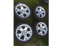 "19"" alloys fit bmw 5x120 fitment 3 series 5series x5 Vauxhall vivaro alloys"