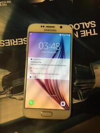 Samsung galaxy s6 on EE network good condition comes with the charger