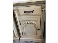 Victorian antique bedside cabinets