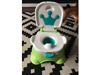 Fisher price potty with sound