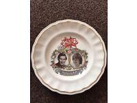Wedgwood Prince Charles and Princess Diana Royal Wedding Commemorative Plate