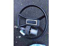 Cable steering kit for boat