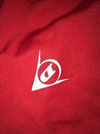 Small men's red Dunlop golf t shirt