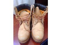 Timberland 6 In Buck Boots Wheat Nubuck, size 75M (UK 7)