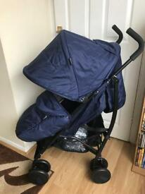 New, Cuggl Maple Pushchair - Navy