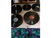 Approx. 80 Old 78 records, His Masters voice and other labels and 33 albums/singles.