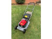 Honda HRD 535 QXE Professional Lawnmower Self Propelled mower 21in Cut Rear Roller
