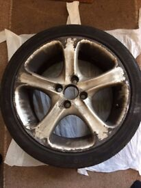 16 inch alloy wheels and tyres