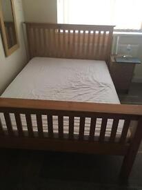 DOUBLE BED FOR SALE *MATTRESS INCLUDED*