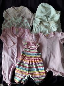 Large amount of Baby Girls clothes 0-3 months