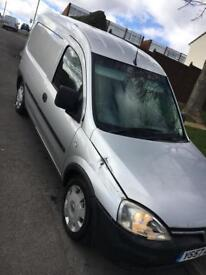 Vauxhall combo van 57 08 128k mot Nov damage cat d spares drive away