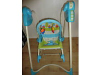 Fisher Price 3in1 swing and rocker