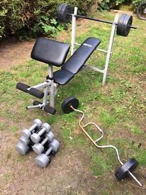Home gym - bench press