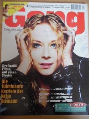 GONG 31 - 1995 (1) Programm 5.- 11.8. Katja Riemann Derrick Wolfgang Moik online kaufen