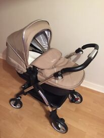 Silver Cross Pram, pushchair, car seat & isofix for sale
