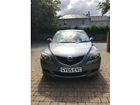 Mazda 3, 2005 reg, 108,000 miles in excellent condition.