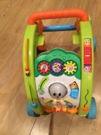 Little Tikes Activity walkerin pristine condition. As new