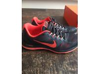 Boxed Nike fuel fusion trainers