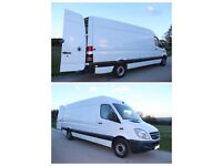Cheap delivery van and driver removal service man and van hire rental