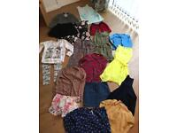 Girls clothes all age 9 mainly from next and some Zara. Winter