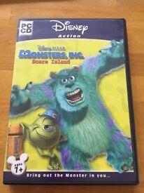 Disney Monsters Inc Scare Island - PC CD-ROM Win 98/xp
