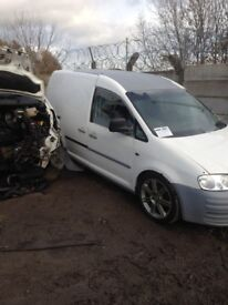 Vw caddy breaking for parts