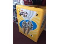 Walls Cornetto chest freezer