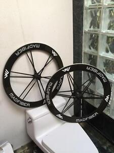 BRAND NEW MAD FIBER GEN2 CLINCHER WHEELSET - SHIMANO