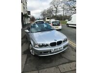 For sale BMW 318i convertable