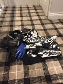 Boys wulfsport clothing for mororbikes
