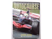 AUTOCOURSE 2008-2009 The World's Leading F1 Grand Prix Annual