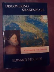 "100+ New books ""Discovering Shakespeare"" by Edward Holmes"