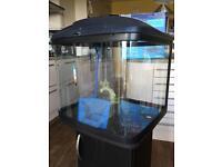 48l Fish tank/ aquarium and cabinet FishPod