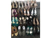 Sandals Heels Shoes Size 3
