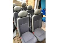 Mini bus seats / scrap metal