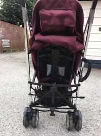 Pushchair purple mamas and papas