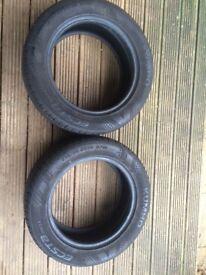 Kumho 215/55/16 tyres