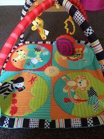 Baby play mat and toys