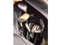 Titleist Golf Clubs - Assorted in bag