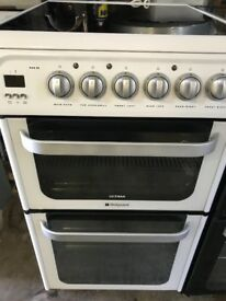 Hotpoint ultima 60cm Wide New Model Fully Working Electric Ceramic Plate Cooker For Sale