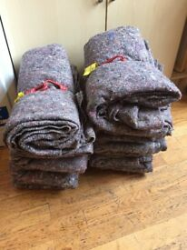 Removal blankets good quality £10 per bundle