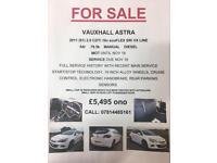 Vauxhall Astra Sri 2ltr VX line