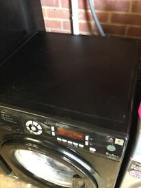 Hotpoint Black 9 kg AA plus washing machine